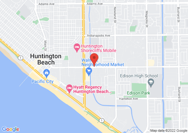 Map of 8141 Atlanta Avenue, Huntington Beach, CA, USA