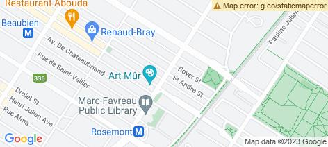 location on map of Au Tarot Couscous et Poulet Boucanier