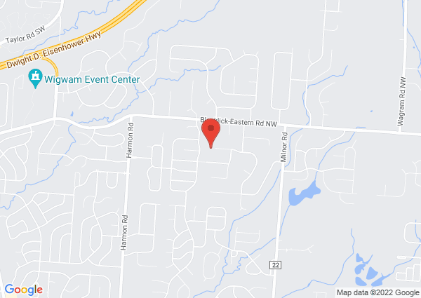 Map of 8962 Chevington Court, Pickerington, Ohio 43147, United States