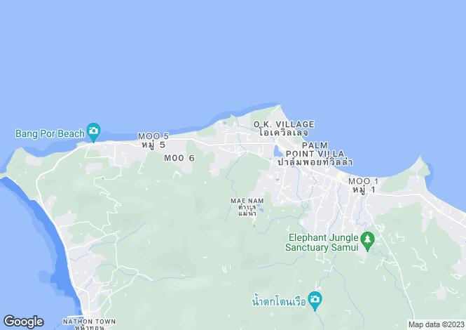 Map for Koh Samui