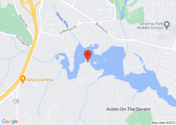 Map of 930 Indian Landing Rd, Millersville, MD 21108, USA