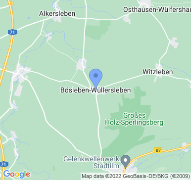 99310 Bösleben-Wüllersleben