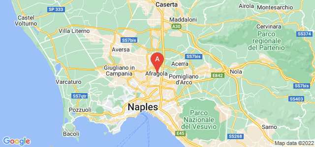map of Afragola, Italy