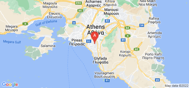 map of Agios Dimitrios, Greece