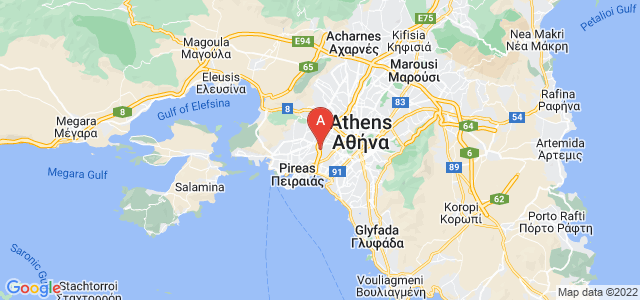 map of Agios Ioannis Rentis, Greece