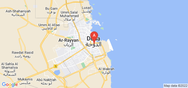 map of Al Ghanim, Qatar