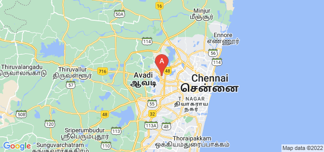 map of Ambattur, India