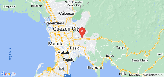 map of Antipolo, Philippines