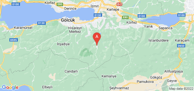 map of Başiskele, Turkey