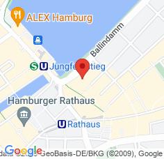 Google Maps / Routenplaner Augenarzt HH-Ballindamm