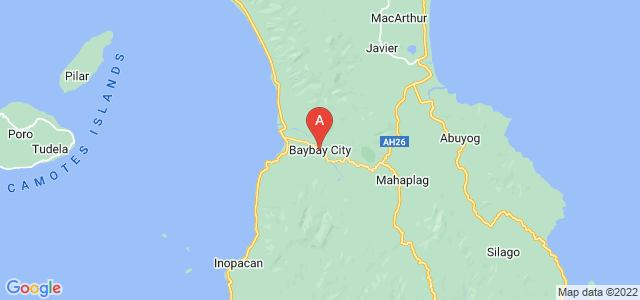 map of Baybay, Philippines