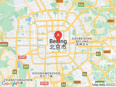 map of Beijing, China