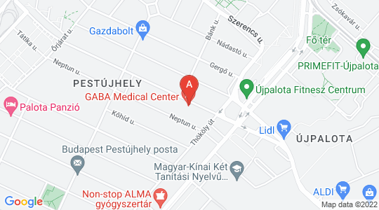 Gaba Medical Center a térképen