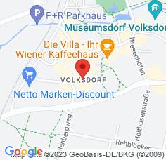 Google Maps / Routenplaner Augenarzt HH-Volksdorf