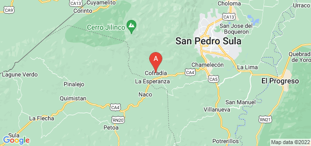 map of Cofradía, Honduras