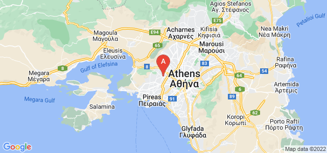 map of Egaleo, Greece