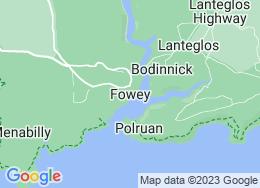 Fowey,Cornwall,UK