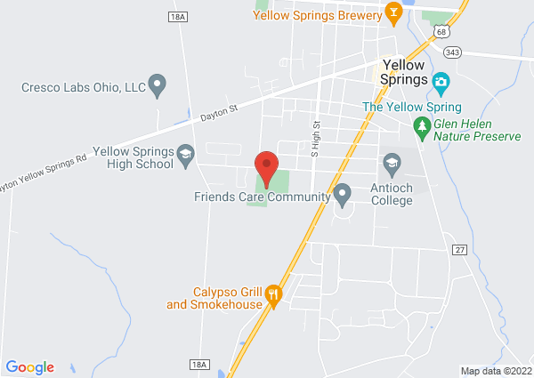 Map of Gaunt Park, Yellow Springs, OH 45387, United States