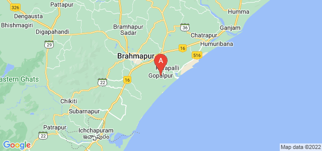 map of Gopalpur, India