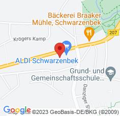 Google Maps / Routenplaner Augenarzt Schwarzenbek