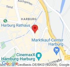 Google Maps / Routenplaner Augenarzt HH-Harburg