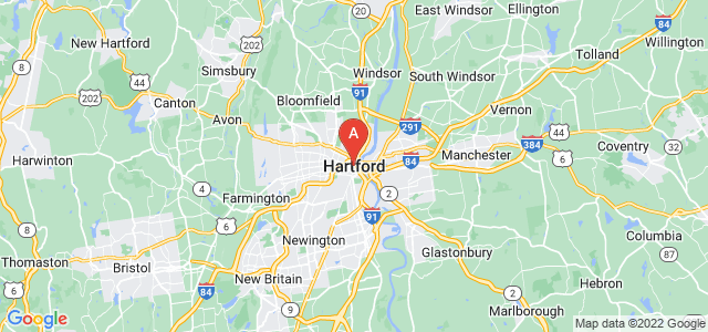 map of Hartford, United States of America