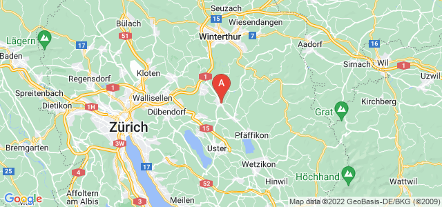 map of Illnau-Effretikon, Switzerland