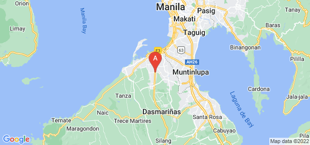map of Imus, Philippines