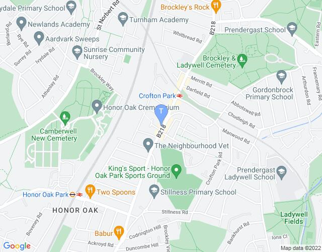 Location map for Jack Studio Theatre