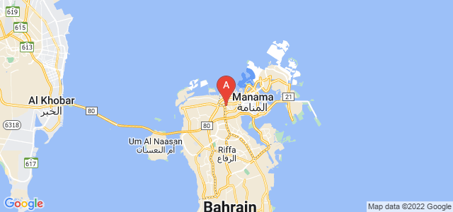 map of Jidhafs, Bahrain