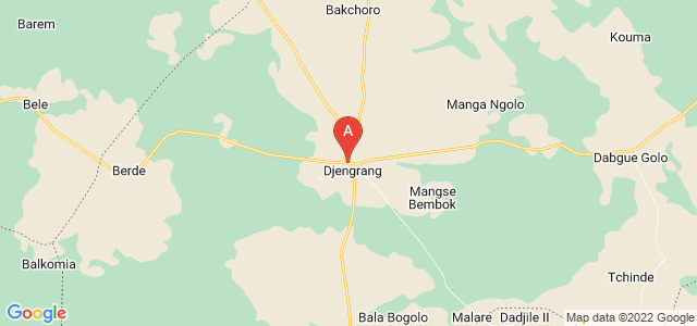 map of Kélo, Chad