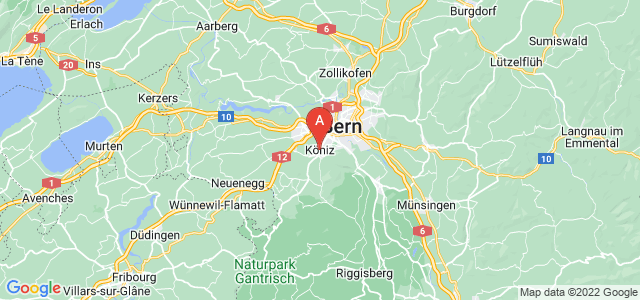 map of Köniz, Switzerland