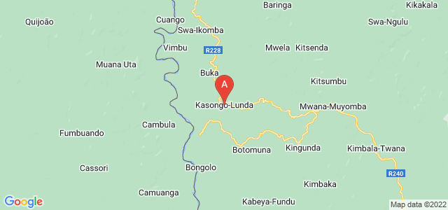 map of Kasongo-Lunda, Democratic Republic of the Congo
