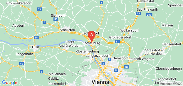 map of Korneuburg, Austria