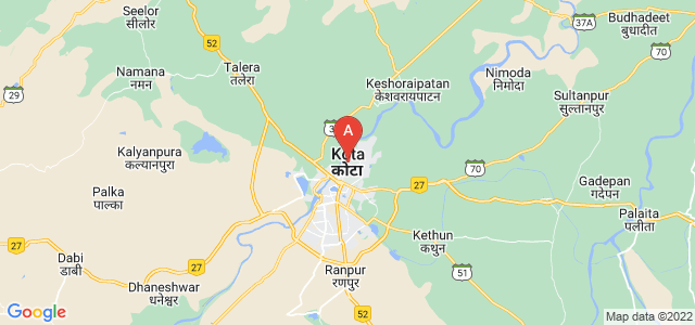 map of Kota, India