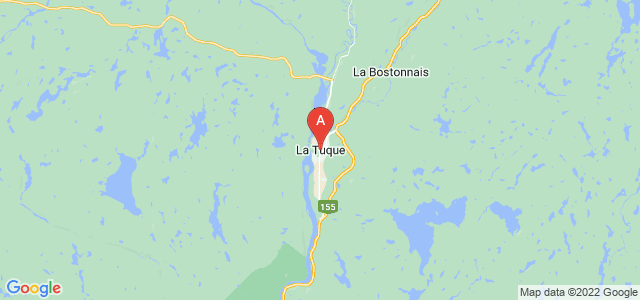 map of La Tuque, Canada