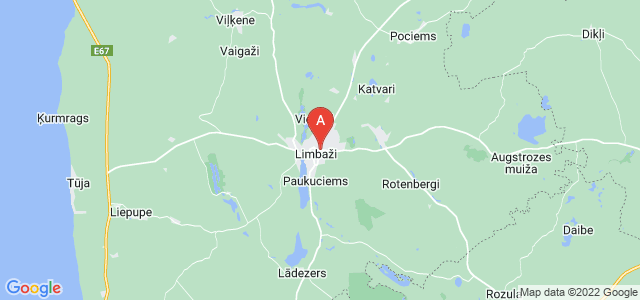 map of Limbaži, Latvia