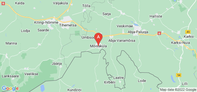 map of Mõisaküla, Estonia