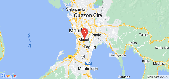 map of Makati, Philippines