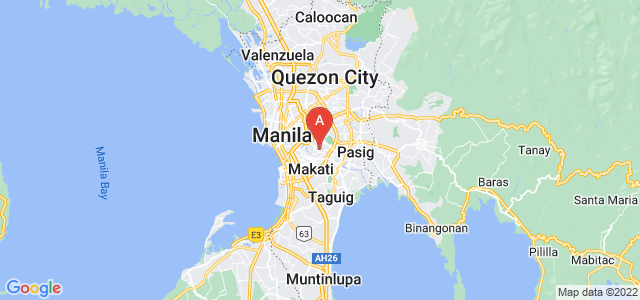 map of Mandaluyong, Philippines