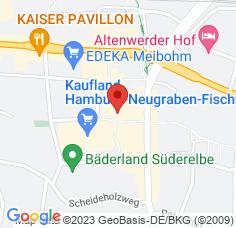 Google Maps / Routenplaner Augenarzt HH-Neugraben