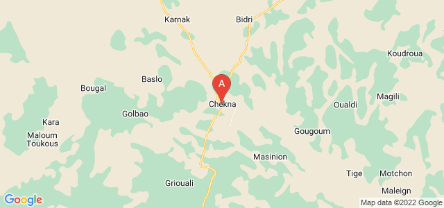 map of Massenya, Chad