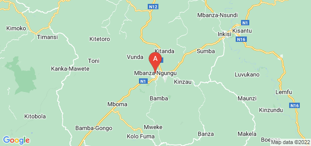 map of Mbanza-Ngungu, Democratic Republic of the Congo