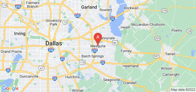 map of Mesquite, United States of America