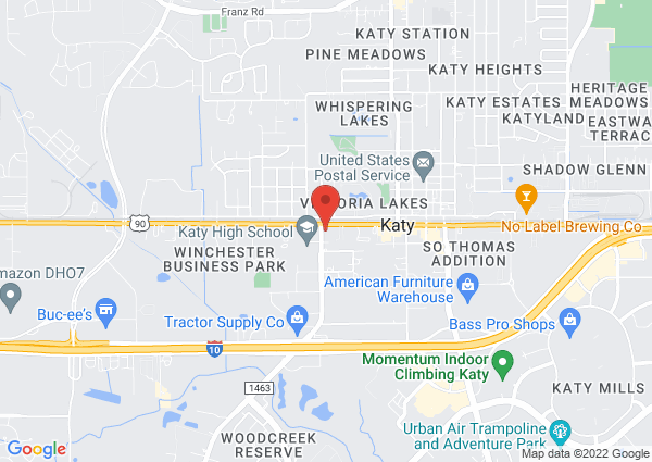 Map of Midway Barbeque, Highway Boulevard, Katy, TX, United States