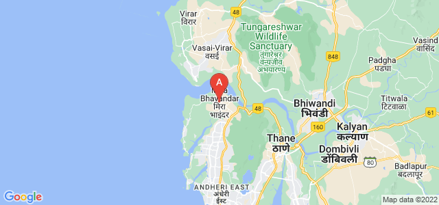 map of Mira-Bhayandar, India