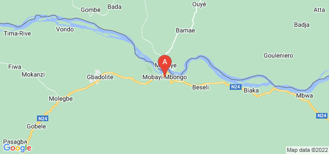 map of Mobayi-Mbongo, Democratic Republic of the Congo