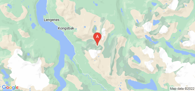 map of Narvik, Norway