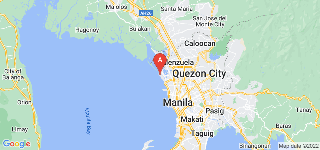 map of Navotas, Philippines
