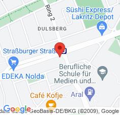 Google Maps / Routenplaner Augenarzt HH-Dulsberg
